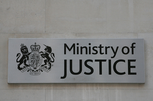 Ministry of Justice plaque