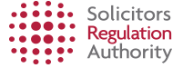 Solictors Regulation Authority logo